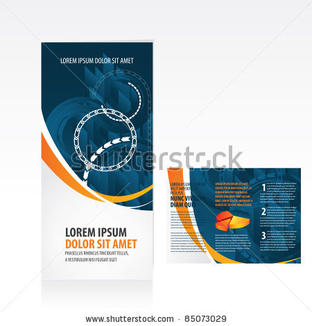 Stock vector tri fold business brochure template 85073029 custom stock vector tri fold business brochure template 85073029 wajeb Images