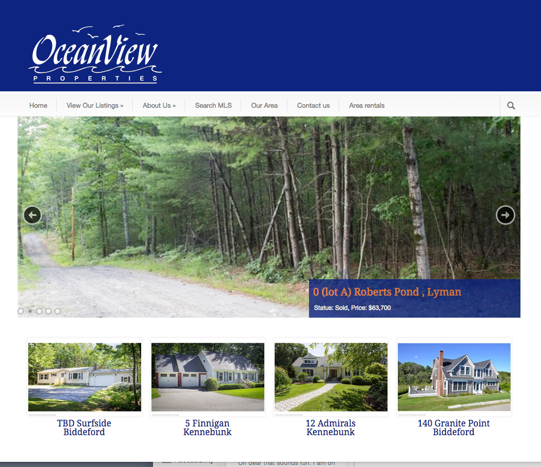 Oceanview properties real estate sales and rentals