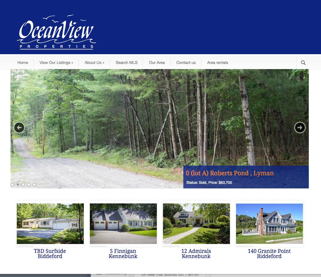 Oceanview properties real estate sales and rentals