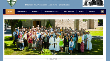 Saint Mary Episcopal Church, a religious website