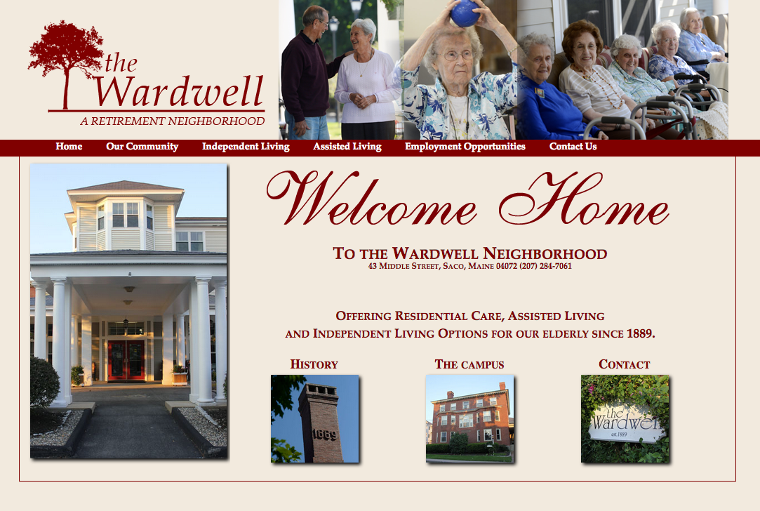 The Wardwell Neighborhood elderly residential care, assisted living and independent living