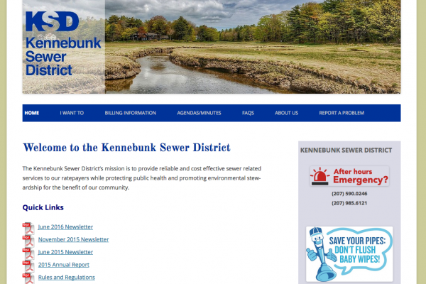 Kennebunk Sewer District