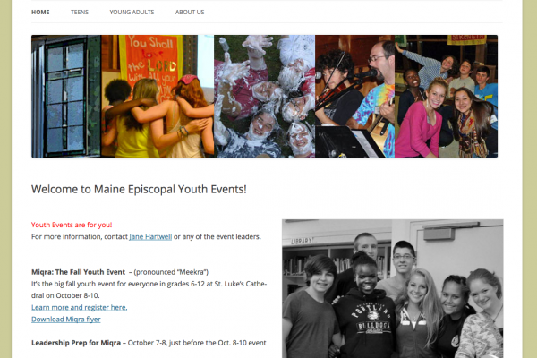 Maine Episcopal Youth
